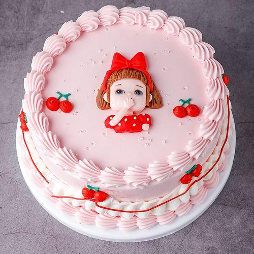 女孩男孩皇上韩式软陶少女蛋糕模型仿真2020新款生日