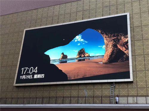 商场楼盘商朝户外p4p5p6p8电子屏广告屏播放视频电视