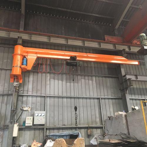 2021定做2吨悬臂吊独臂吊电动e立柱式360度起重吊机移动式独臂吊