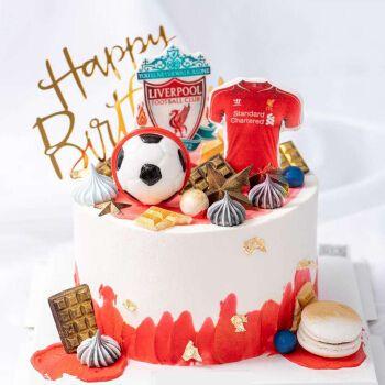 卡通生日蛋糕送男生儿童网红汽车皮卡丘足球帆船蛋糕全国同城配送