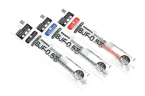 日本zebra斑马|bjf-0.5笔芯|10年限量纪念款|花朵自勉