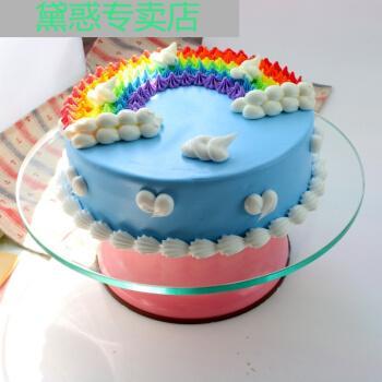 6765【轻奢高端】15 蛋糕转盘裱花台生日蛋糕转盘转台烘焙裱花