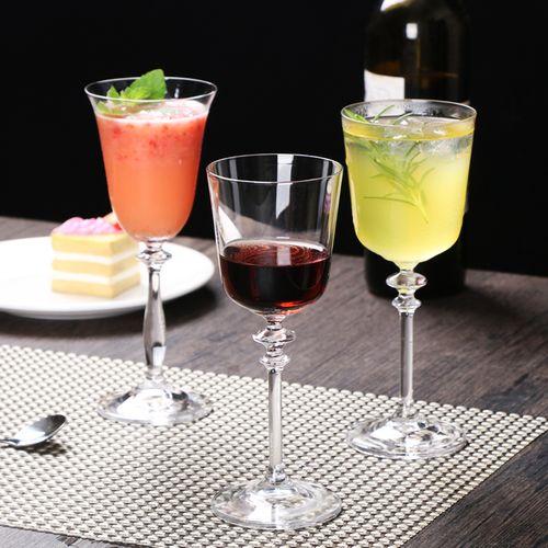 日式进口水晶高脚鸡尾酒杯 马天尼杯 红酒杯 马提尼特