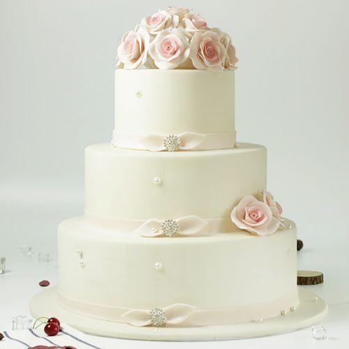 仿真翻糖蛋糕模型 手工创意精美艺术蛋糕生日婚庆专用