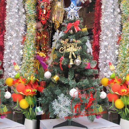 特价120cm圣诞节树家庭圣诞树1.2米加密圣诞树四尺一