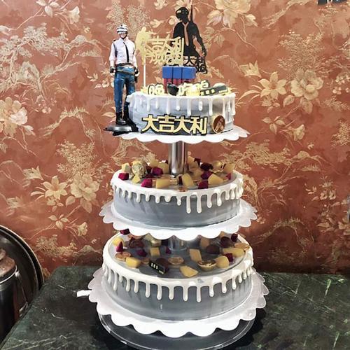 多层铝合金支架婚礼祝寿水果蛋糕模型2021新款网红