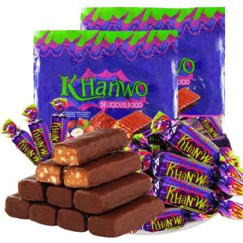 国产紫皮糖俄罗斯风味新年花生巧克力糖果500g喜糖结婚1 试吃装180g