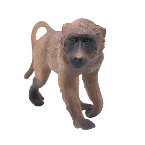 英国collecta我你他仿真动物模型 非洲摹野生动物 公狒狒 雄性88204