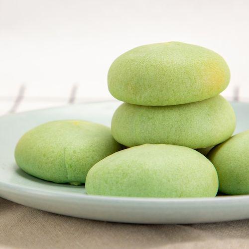 厦门风味绿豆饼皮薄馅多传统工艺手工馅饼充饥糕点心抹茶绿豆馅饼