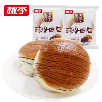 桃李面包 酵母面包600g整箱装 休闲零食早餐点心 多种
