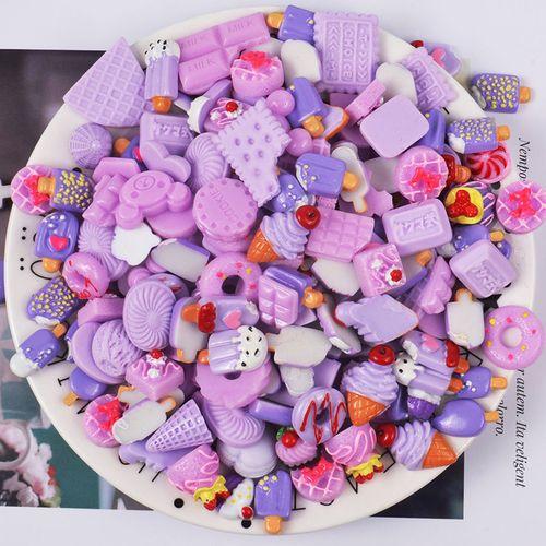 草莓蛋糕面包diy手机壳仿真奶油胶材料手工水晶滴胶制作树脂配件乔鸟