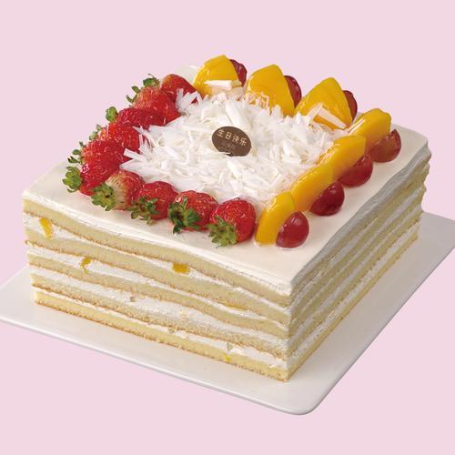 f02香芒分享/慕斯蛋糕  请提前一天下单预订
