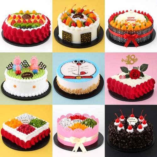 仿真水果奶油小蛋糕卡通装饰欧式套装新款卡通蛋糕新品女士网红