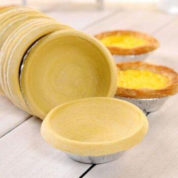 肯德基 葡式蛋挞皮 l带锡纸托烘培原料蛋挞液组合家庭
