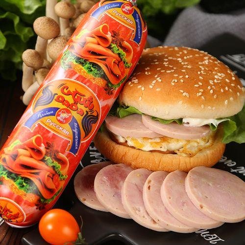香肠俄罗斯风味猪肉即食下酒菜网红同款大列巴面包