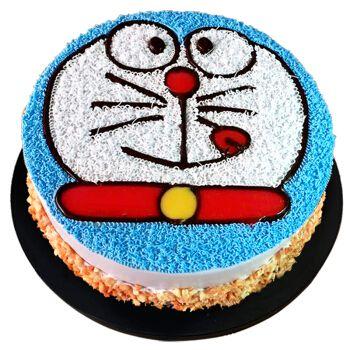 中帝(zhong di) 儿童生日蛋糕同城配送卡通定制创意蛋糕可爱海绵宝宝
