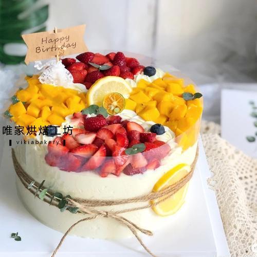 森系水果蛋糕二