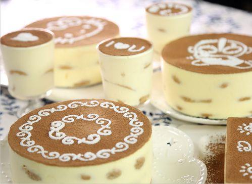 提拉米苏模具8寸蛋糕喷花木糠慕斯蛋糕图案糖粉筛印花
