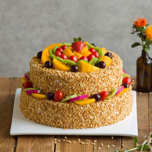 阳光城堡蛋糕-6磅(内江)
