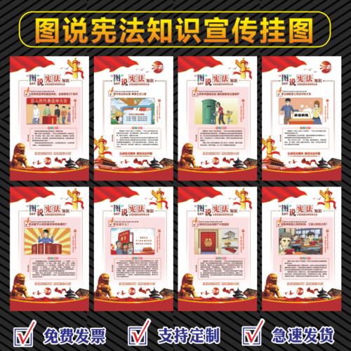 2021年国家宪法日主题宣传海报挂图2021年宪法宣传周宣传海报挂图贴画