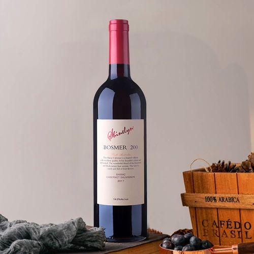 shinelyn轩奈 200 澳洲原瓶进口 14度西拉赤霞珠混酿干红葡萄酒