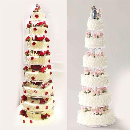 多层生日蛋糕模型仿真架子6层8层10层新款网红婚礼假