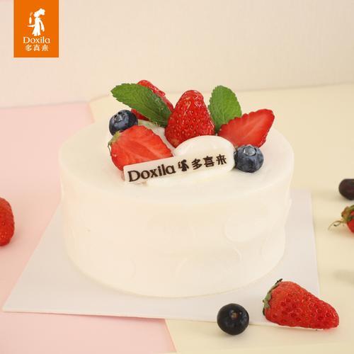 雪融莓莓小4寸蛋糕*1个 (冷)