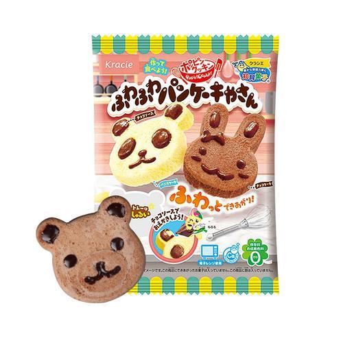 嘉娜宝小玲伶玩具日本食玩儿童手工diy小熊小兔动物蛋糕 可食食丸