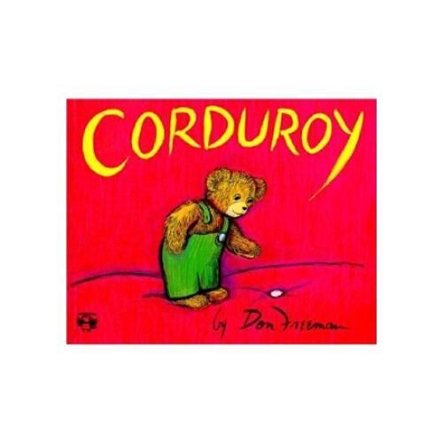 英文原版 corduroy 经典绘本:小熊可可 纽约公共图书馆