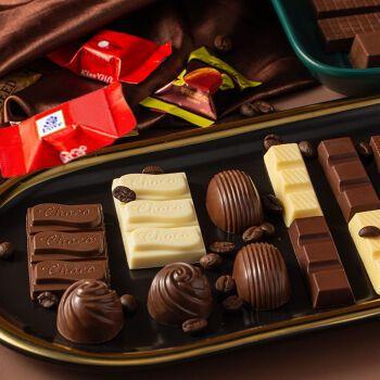 夹心巧克力混合巧克力喜糖果100g-5斤 【试吃】100g