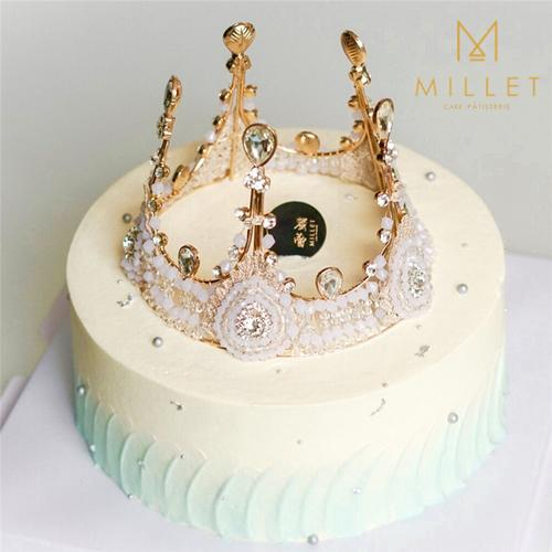 皇冠女神造型款蛋糕(多款)61crown