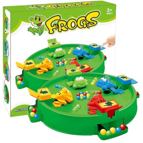 青蛙吃豆抢豆吞珠游戏亲子休闲互动科学儿童益智玩具趣味办公解.