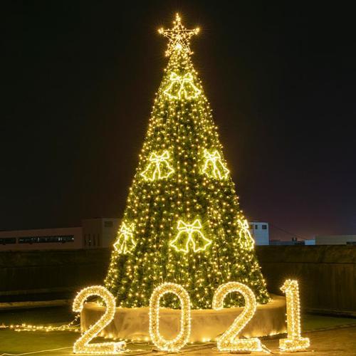 大型圣诞树4米框架树5米酒店商场场景户外布置8米10米