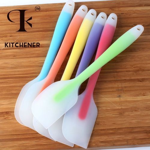 烘焙工具大号一体式硅胶刮刀做蛋糕烘培奶油抹刀橡皮铲刀搅拌刮板