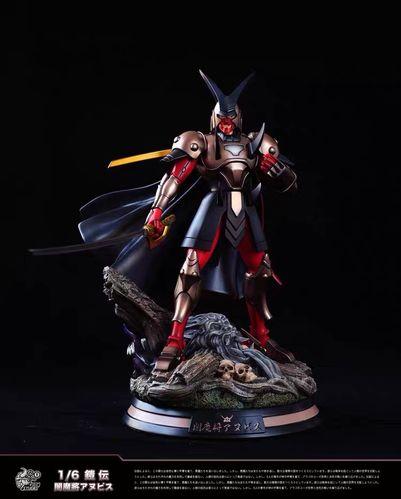 foc 魔神坛斗士 铠传 第六弹 暗魔将 雕像 限量 手办