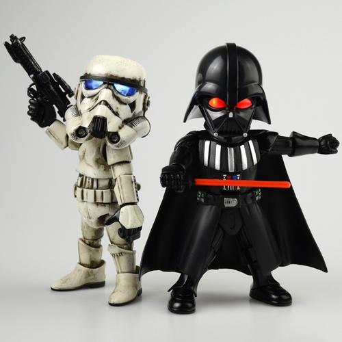 star wars星球大战9黑武士白兵6寸可动手办摆件玩具