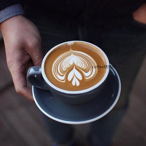 ins网红餐厅咖啡馆陶瓷杯卡布奇诺咖啡杯花色拉花拿铁