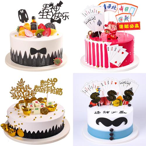 蛋糕模型2021新款生日蛋糕模型 创意流行蛋糕模型橱窗