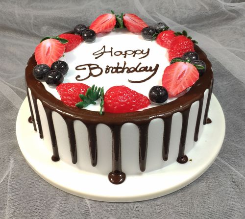 新款网红仿真蛋糕模型蛋糕样品水果蛋糕模型生日蛋糕
