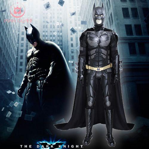 蝙蝠侠黑暗骑士崛起 蝙蝠侠cos服 万圣节男cosplay