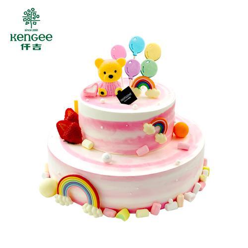 卡通可爱儿童生日蛋糕 武汉三环内可配送 需提前48小时预订