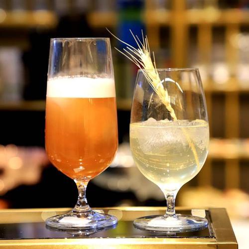冷饮水晶啤酒酒吧器皿高脚鸡尾酒杯果汁杯杯网红杯冰
