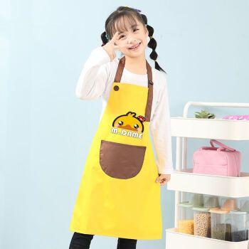 樊虎 儿童罩衣防水外穿秋冬男女长袖围裙幼儿园画画美术防脏吃饭衣