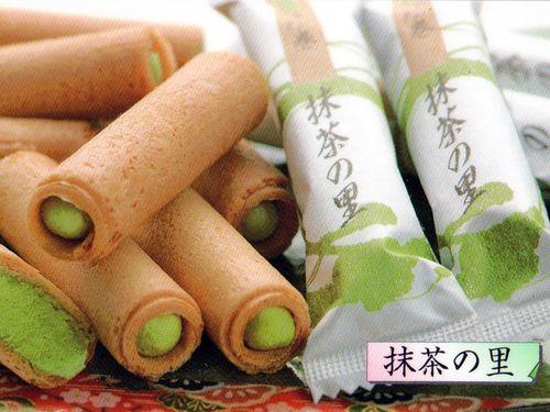 【日本直邮】日本特产零食 抹茶の里 抹茶棒抹茶卷 13