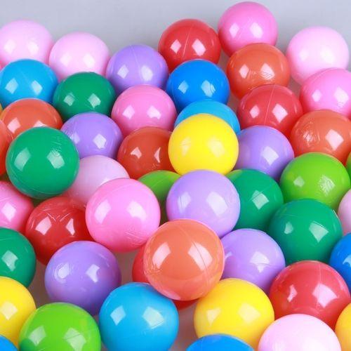 环保塑料儿童淘气宝海洋球彩色球游泳池波波球婴儿七彩球玩具热销