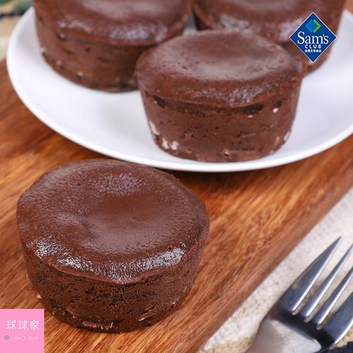 山姆会员超市 pomone流心巧克力蛋糕400g法国进口加热