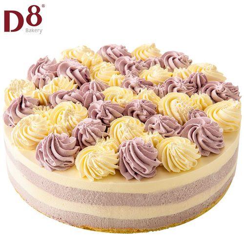 d8 香芋慕斯蛋糕 950g 生日蛋糕 网红甜品 下午茶 含