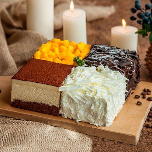 【周年庆福利价148元】2磅 四重奏 蛋糕(海口)
