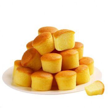 鸡蛋仔迷你小 零食代餐小面包早餐食品儿童学生休闲好吃的零食 【整箱