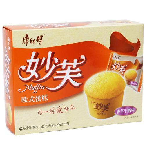 康师傅妙芙香芋牛奶蛋糕192g